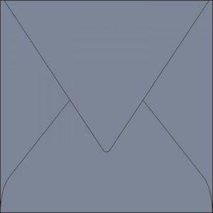 Pollen 5328C - Enveloppe 140x140, 120 g/m², coloris gris koala, en paquet cellophané de 20