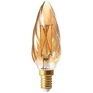 Girard sudron Ampoule led filament E14 4 watt Dimmable (eq. 30 watt) - Finition - Ambré -