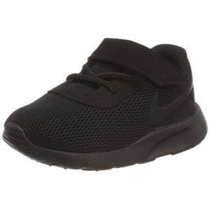 Nike Tanjun (TDV), Chaussures de Running Compétition Mixte Enfant, Noir Black 001, 23.5 EU