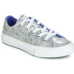 Converse Chaussures enfant CHUCK TAYLOR ALL STAR GALAXY GLIMMER OX Argenté - Taille 36,37,38,27,28,29,30,31,32,33,34,35