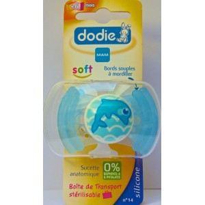 Dodie K807045 - Sucette anatomique Eveil en silicone N°14 (4 mois +)