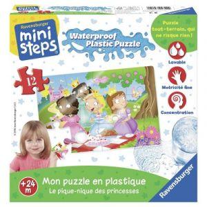 Ravensburger Le pique-nique des princesses - Puzzle en plastique 12 pièces