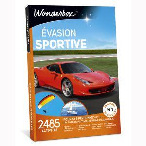 Wonderbox Evasion sportive - Coffret cadeau 2485 activités