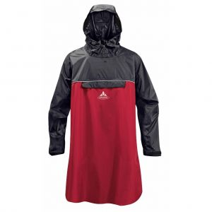 Vaude Wheeled Poncho Mixte Adulte, Indian Red, FR : S (Taille Fabricant : S)