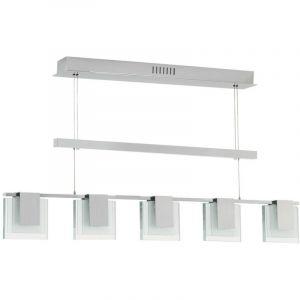 Eglo Suspension lustre lampe éclairage plafonnier blanc chaud salle de séjour cuisine