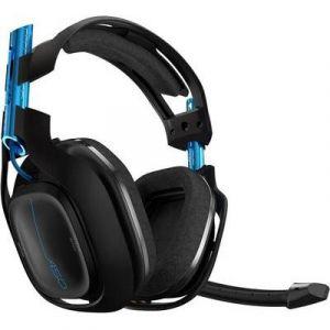 Astro Gaming Micro-casque de gaming circum-aural sans fil A50 noir/bleu