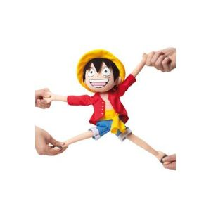 Jemini Peluche One Piece : Luffy élastique 35 cm