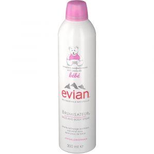 Evian Brumisateur bébé d'eau minérale 300 ml