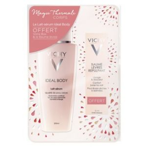 Vichy Coffret Ideal Body Lait-sérum 200 ml + Baume lèvres repulpant