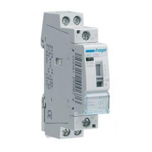 Hager Contacteur commande manuelle 25A 2F 230V ERC225