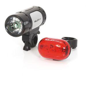XLC CL Comp Cupid/Oberon - Kit éclairage vélo - noir Sets de lampes