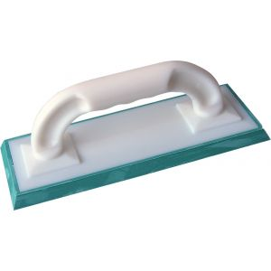Outibat Taloche de carreleur à joint - Semelle verte - Dimensions 250 x 100 mm