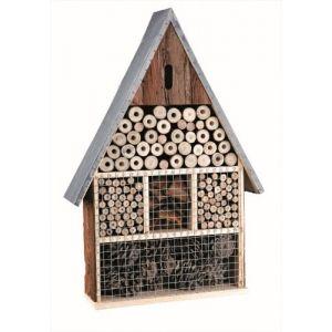 Trixie Natura - Hôtel pour insectes en bois (35 x 50 x 9 cm)