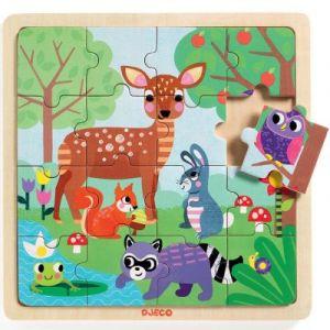 Djeco Puzzle en Bois - Forest