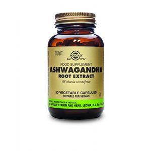 Solgar SFP Ashwagandha Root Extract Vegetable Capsules 60
