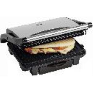 Bestron ASW113 - Grill panini en inox