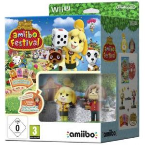 Animal Crossing Amiibo Festival + 2 Figurines + 3 cartes [Wii U]