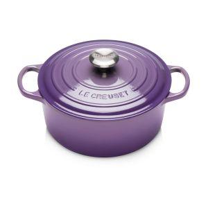 Le Creuset Cocotte ronde fonte ultra violet Ø24 cm Violet