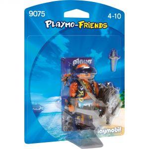 Playmobil 9075 - Pirate avec bouclier