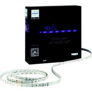 Philips 72993/55/PH - Lumière indirecte  Hue Personal Wireless Lighting LightStrip LED transparent