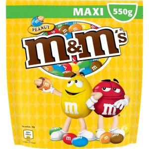 M&m's Bonbons au chocolat au lait et à la cacahuète - Le pochon de 550g
