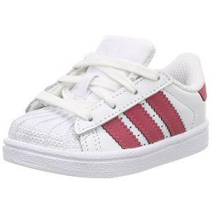 Adidas Superstar I, Chaussons mixte bébé, Blanc (Ftwbla/Ftwbla/Negbás 000), 19 EU