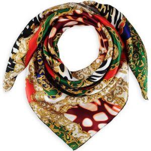Image de Allée du foulard Carré de soie Premium Magnificence