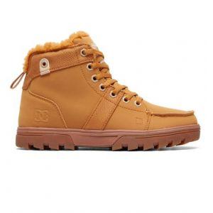 DC Shoes Woodland - Bottes à lacets pour Femme - Beige