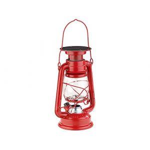 Lunartec Lampe-tempête solaire décorative à LED 40 lm / 1,5 W / 23 cm