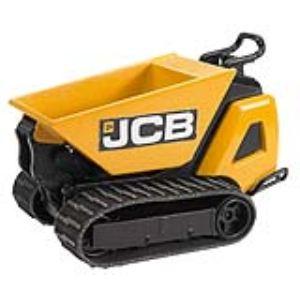 Bruder Toys 62005 - Moto benne sur chenilles JCB HDT-5 - Echelle 1:16