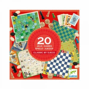 Djeco Classic Box 20 jeux