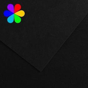 Canson 200040815 - Feuille Iris Vivaldi A4 240g/m², coloris noir 38