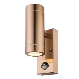 Globo Lighting Applique extérieure inox couleur cuivre - Verre translucide