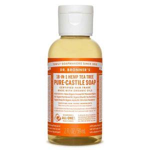 Dr bronner's Savon liquide arbre à thé 59 ml