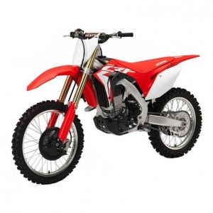 New Ray Honda CRF 450R 2017 1:12 rouge/blanc