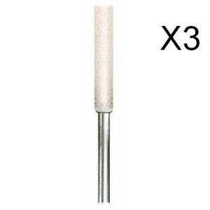 Dremel 457 - Meule d'affûtage de chaîne de tronçonneuse 4,5 mm (Lot de 3)