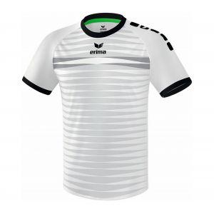 Erima Ferrara 2.0 Maillot de Football Homme, Blanc/Noir, FR : 2XL (Taille Fabricant : XXL)