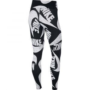 Nike Collant Icn Clsh Aop Sportswear Noir - Taille S