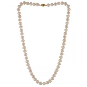Rêve de diamants CDNCPOR210 - Collier en or 750° et perles d'eau douce