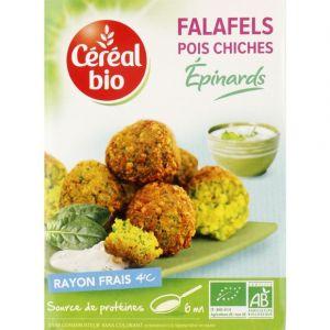 Céréal bio Falafels pois chiches épinards bio