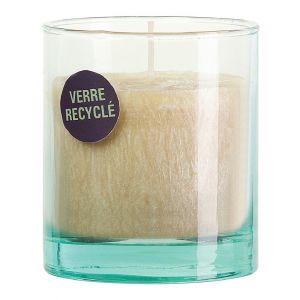 Devineau Vanille - Bougie végétale parfumée dans verre recyclé
