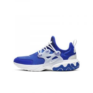 Nike Chaussure React Presto pour Enfant - Bleu - Taille 37.5 - Unisex