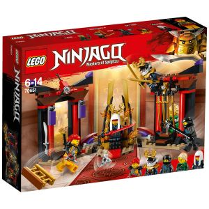 Lego 70651 - Ninjago : La confrontation dans la salle du trône