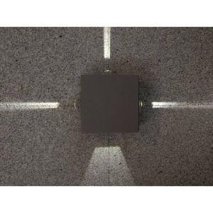Lutec Applique murale LED extérieure ECO-Light Evans 1863 GR EVANS LED intégrée anthracite