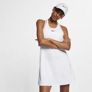 Nike Robe de tennis Court Dri-FIT pour Femme - Blanc - Couleur Blanc - Taille XS