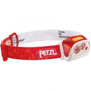 Petzl Lampe Frontale Actik Core Rouge 350Lm
