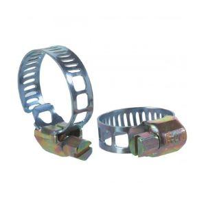Cap Vert 10 Colliers de serrage bande Ø18-28 mm à crémallière