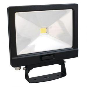 Lumihome Projecteur LED extérieur SLIM-30DE 30 W noir