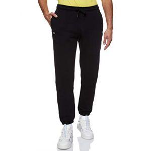 Lacoste Pantalon de survêtement Tennis Sport en molleton uni Taille 5XL Noir