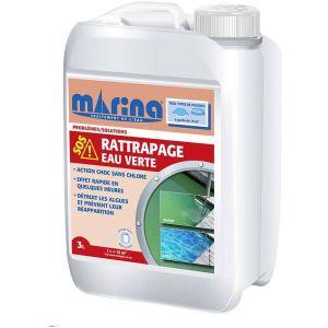 Marina Anti-Algues choc SOS rattrapage eau verte 3 L